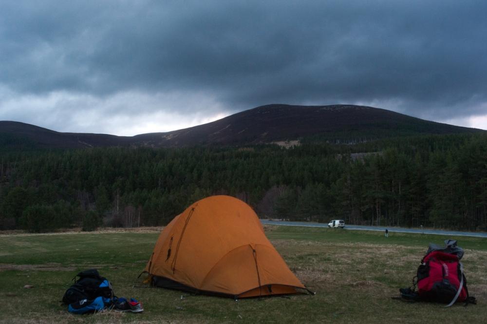 Macdui camping